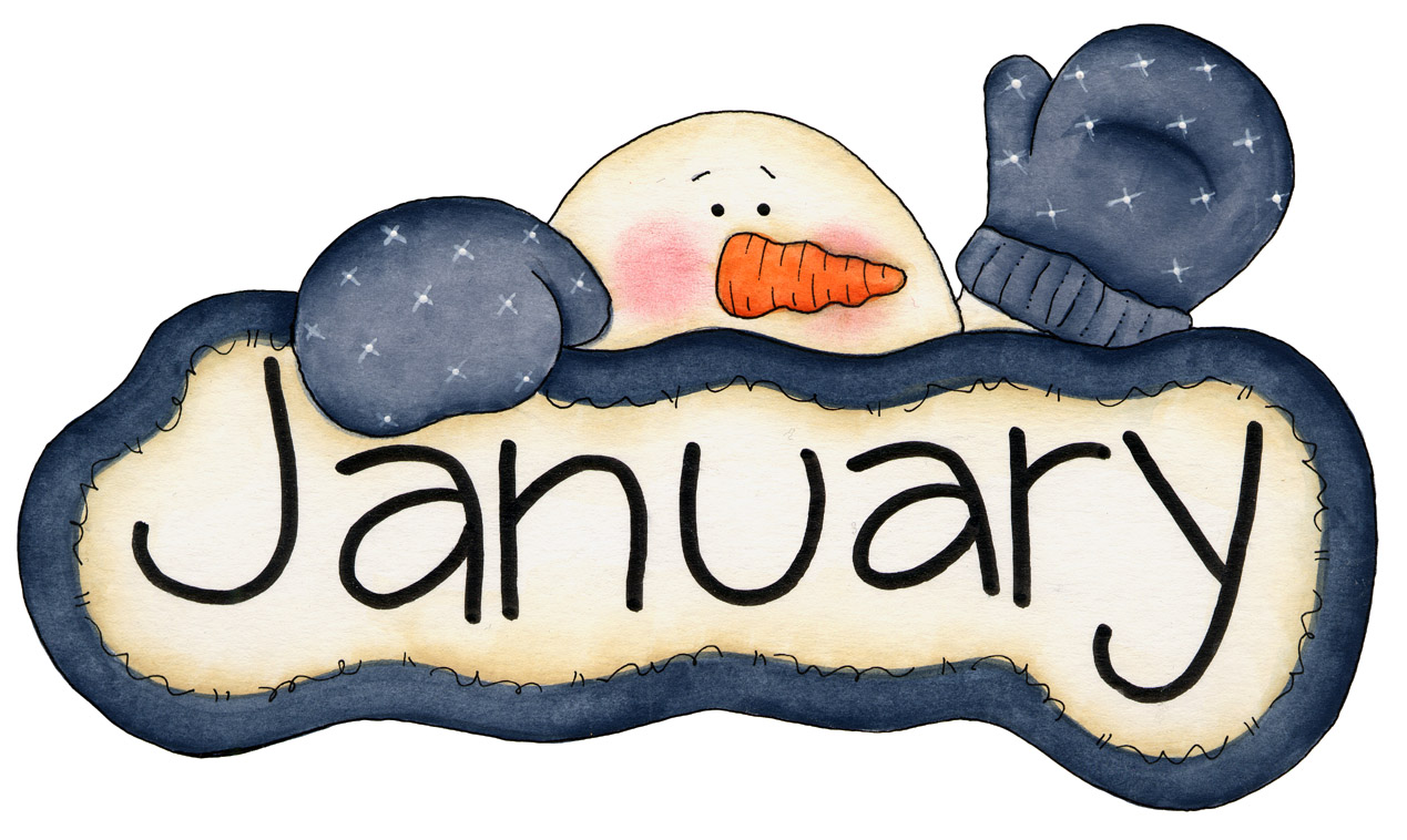 Clip Art Calendar January : January juliana lee
