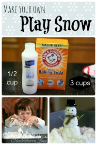 play snow collage