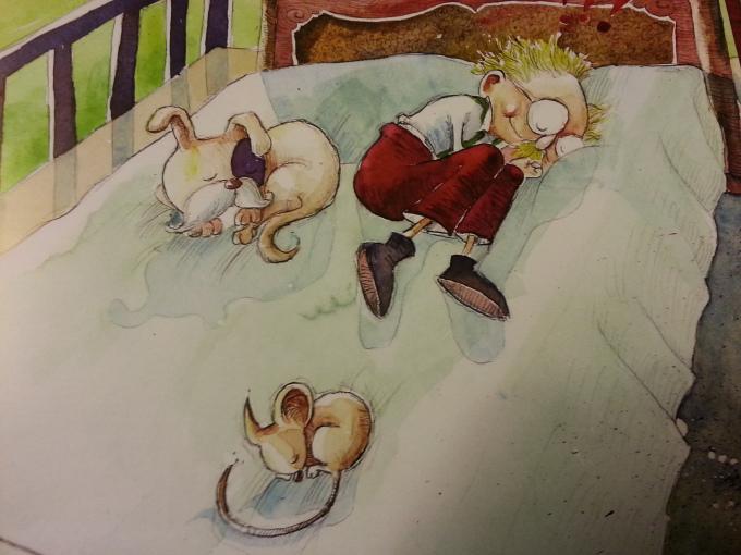Little Man Asleep_Peddlers Bed